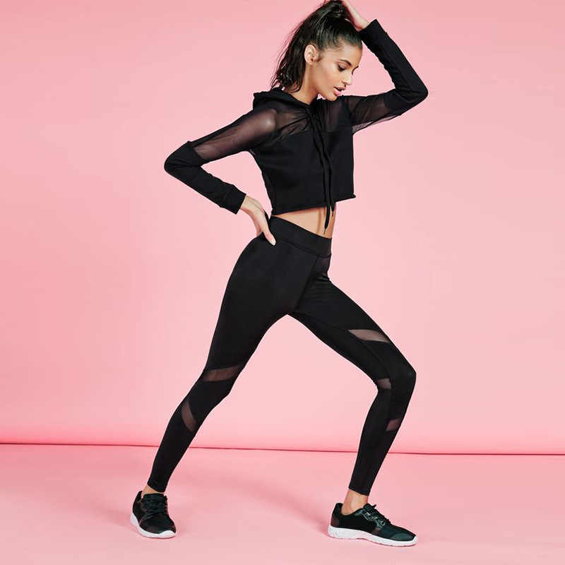 Women Yoga Top + Sports Pants Sport Suit  Yoga Set Running Fitness Training Clothing for Women Sportswear for Women Fitness TZ8