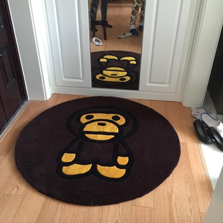2015 Channel Bathroom Decor Carpet Floor Mats Ape Bape Rug Monkey Rugs And Carpets Cartoon Modern