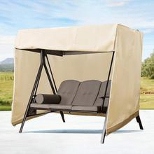 Outdoor Garden Furniture Swing Cover Dustproof Hammock Cover Small Size Patio Furniture Waterproof Dust Cover Muebles