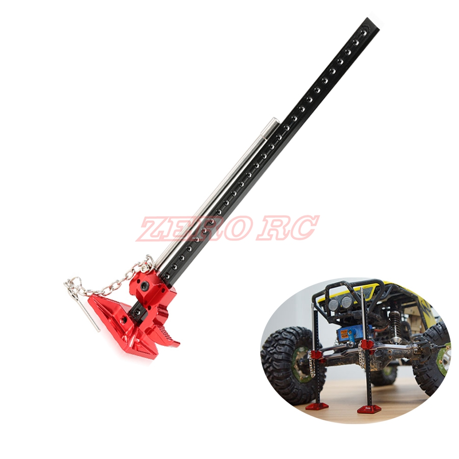 Red Metal High Lift Jig for 1//10 RC Rock Crawlers D90 Axial SCX10 TF2 Car Truck