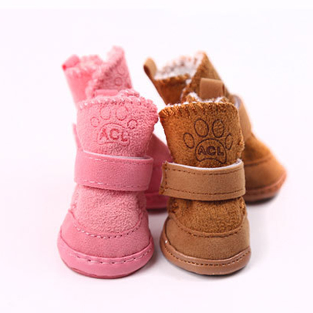 Custom Puppy and Big Dog Shoes For The Perfect Fit!  3