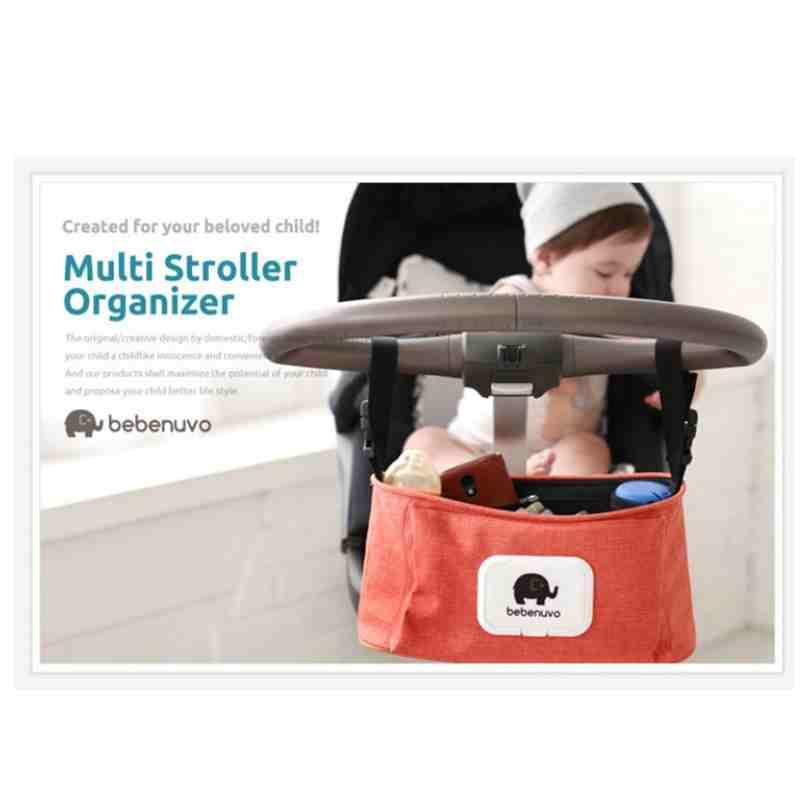 Zootime Multifunctional Baby Stroller Organizer Baby Carriage Pram Cart Bottle Diaper Newborn Nappy Bag Stroller Accessories цена 2017