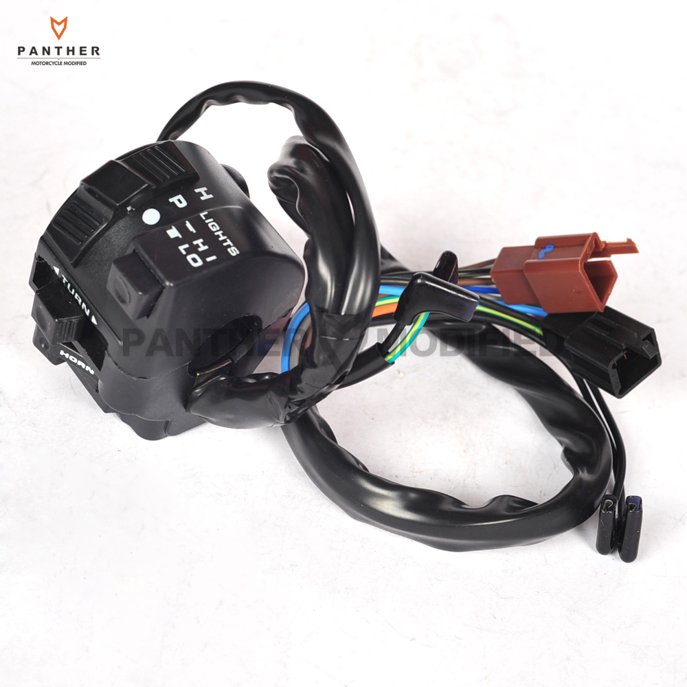 Motorcycle ABS Left Hand Switch Turn Signal Button Control case For HONDA CBR250 CBR400 VFR400