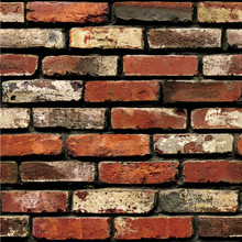 New Qualified Dropship 3D Wall Paper Brick Stone Rustic Effect Self-adhesive Wall Sticker Home Decor adesivo de parede Se26