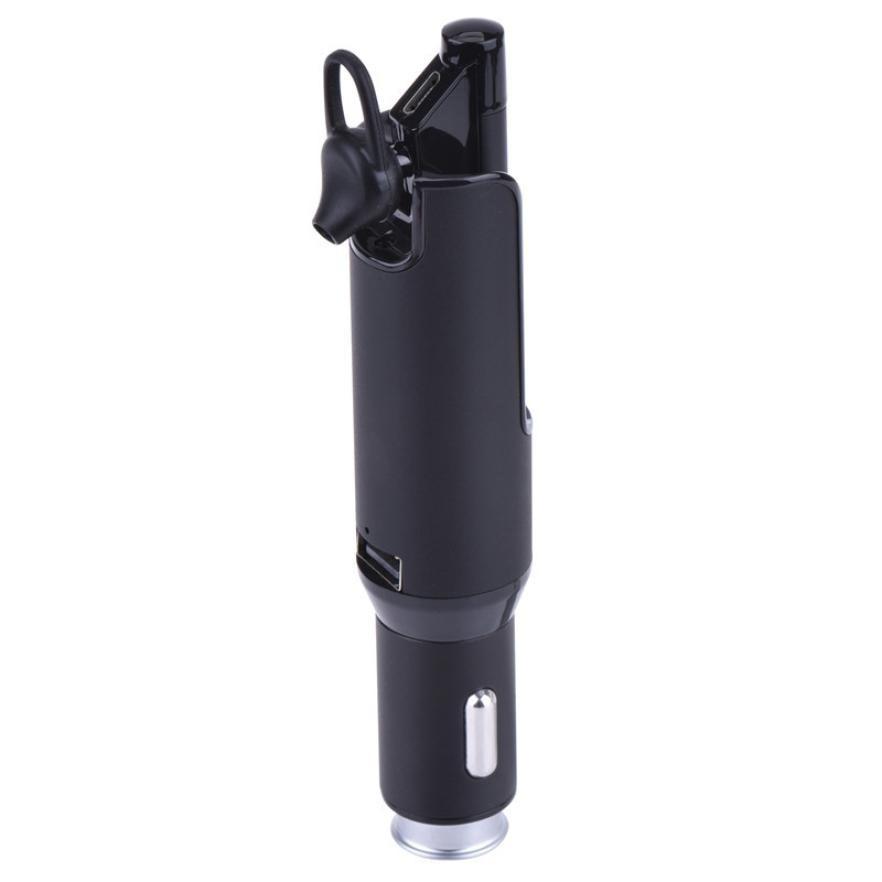 Chargeur de voiture multifonction Bluetooth écouteurs Mini sans fil écouteurs universel en aluminium chargeur de téléphone 5 V 2.1A sur Aliexpress