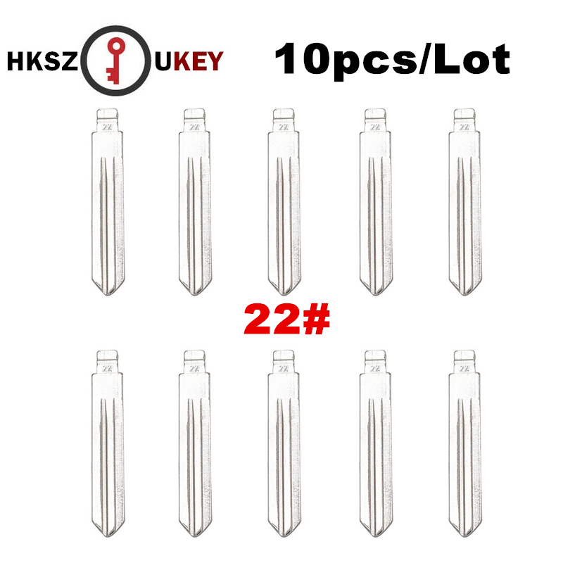 mega sale  hkszukey 10pcs  lot keydiy universal remotes flip blade 22   nsn14 for nissan