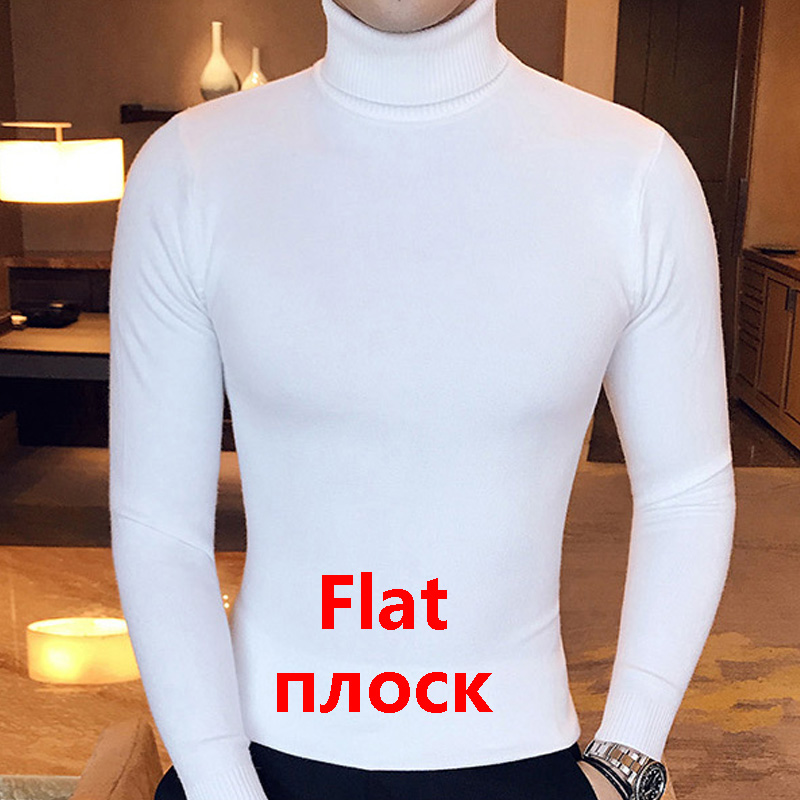 High Turtleneck Sweater Slim Fit 4