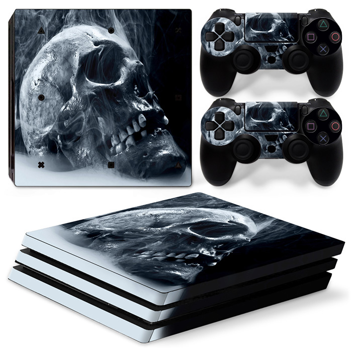 games skin for PS4 PRO console and controllers skin