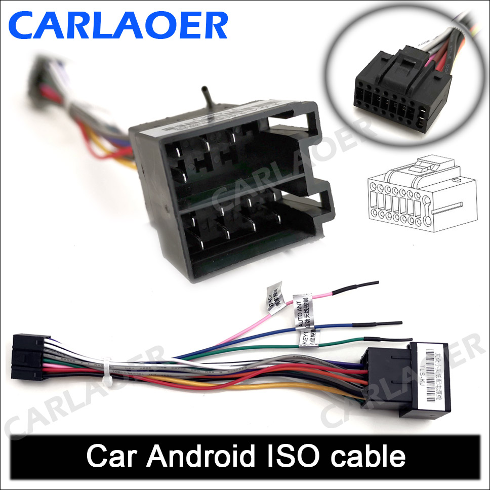 Car Android ISO cable