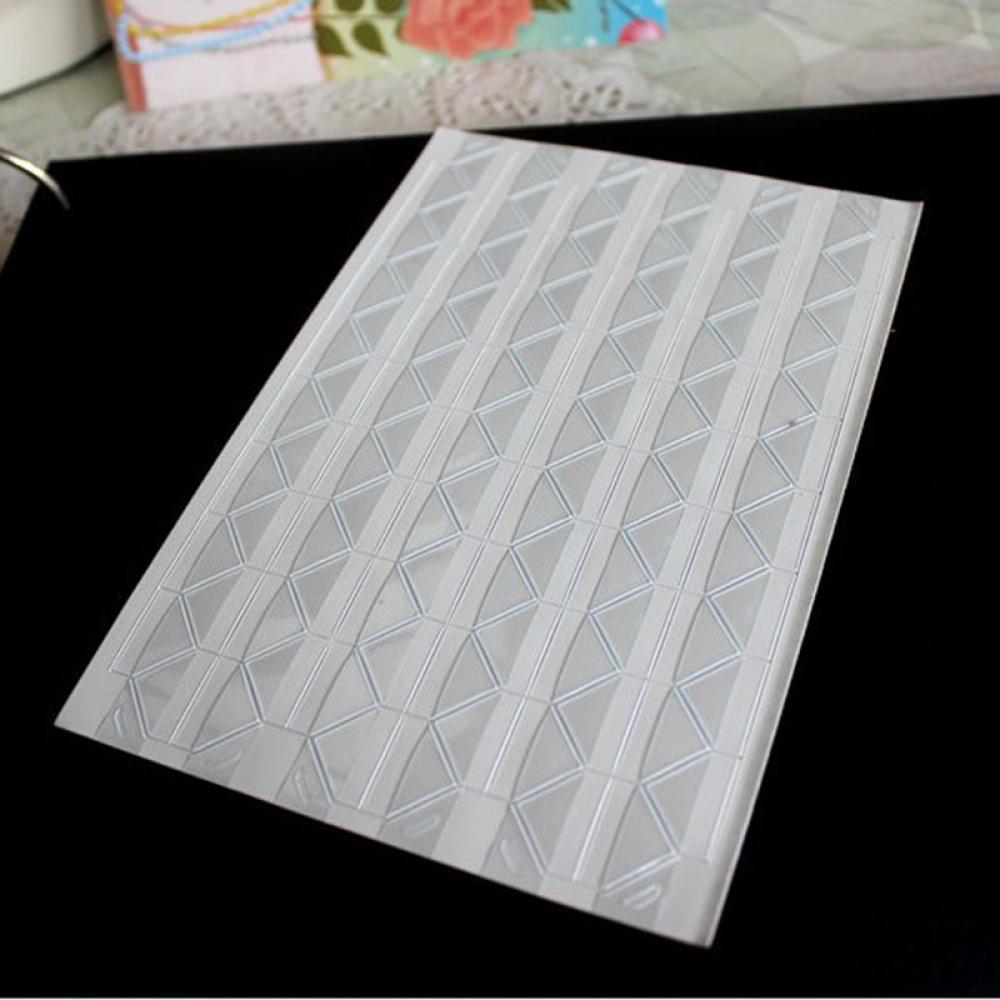 New1 фото листа скрап-альбом Уголок Ленты Стикеры самоклеящиеся ручной DIY - Цвет: clear