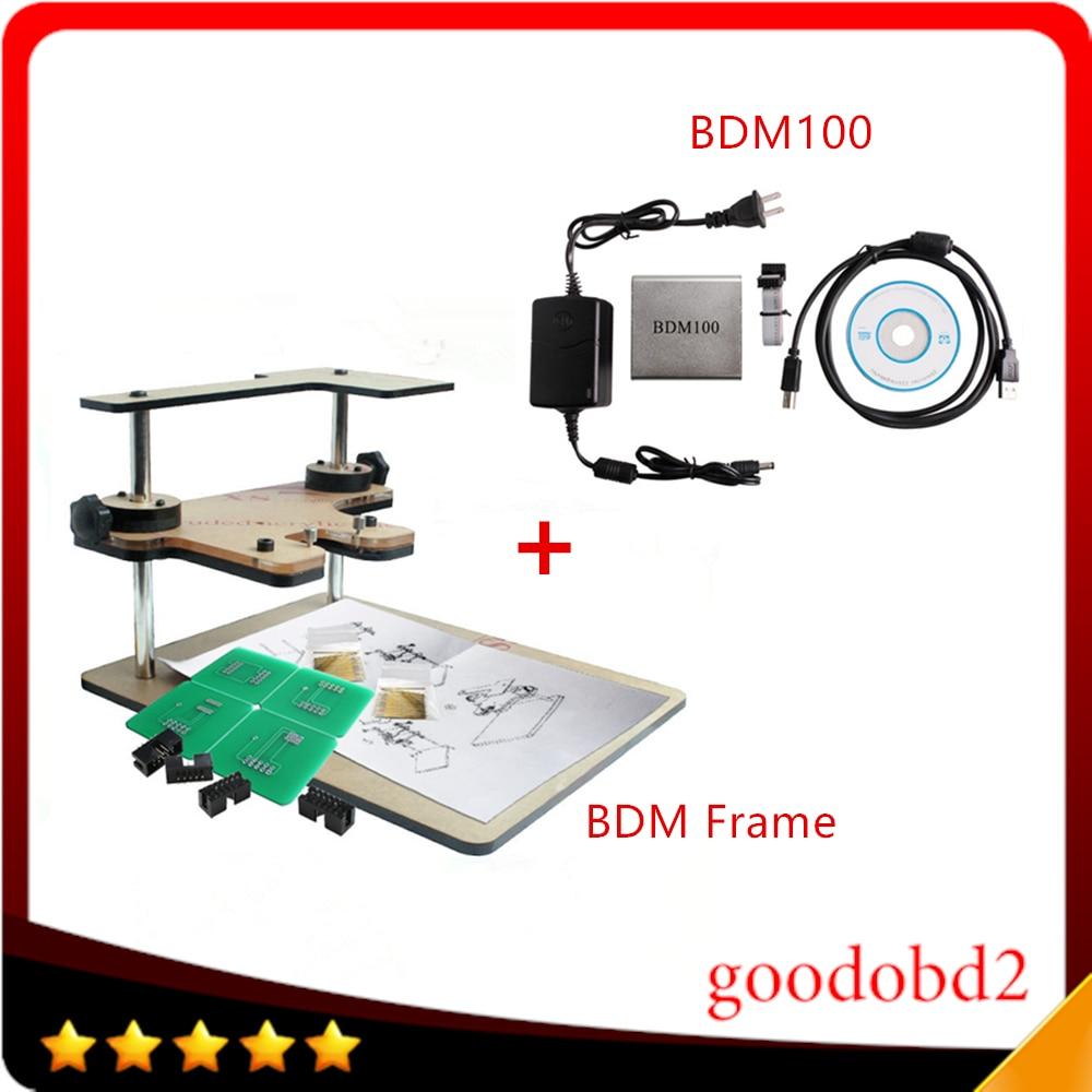 BDM Frame Full Adapter for BDM100 ECU Programmer Tool ECU Chip Tunning Tool BDM100 FGTECH Galletto V54 CMD Work for Kess Ktag