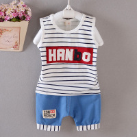Hot Selling New Baby Suit Boys And Girls Summer Spring Baby Suits Nice Quality Style T