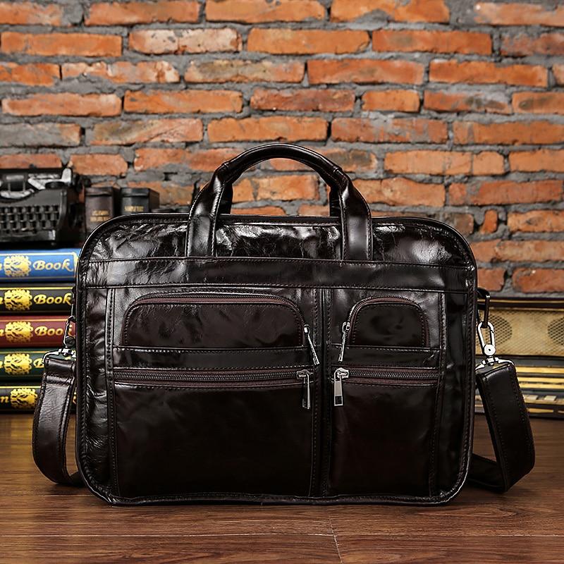 HTB1 2VbiYSYBuNjSspfq6AZCpXaD WESTAL men's genuine leather bag for men's briefcase office bags for men leather laptop bag document business briefcase handbag
