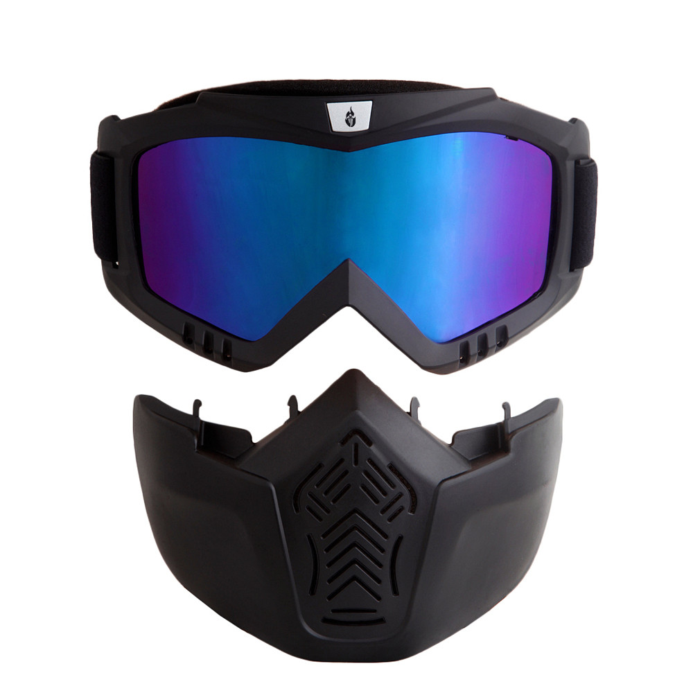WOLFBIKE Radsportbrille Airsoft Paintball Skibrille Snowboard - Radfahren - Foto 2