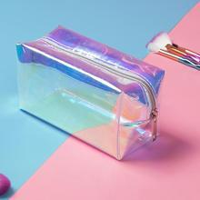 Miyahouse,, лазерная дизайнерская прозрачная дорожная сумка, Женская водонепроницаемая Желейная сумка, ПВХ, косметичка для женщин, косметичка