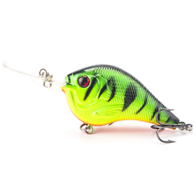9.5cm 11g Hard Fishing Lure Carp Fishing Bait Crank Bait Treble Hooks