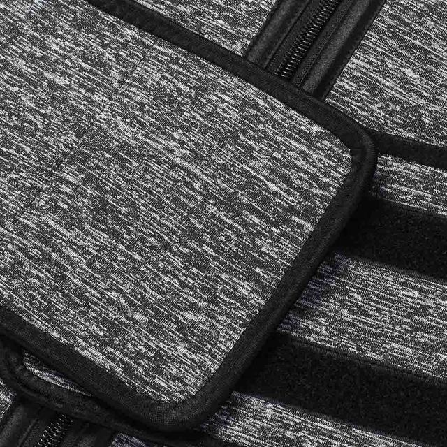 Lover Beauty Women Waist Trainer Plus Size High Compression Zipper Fajas Slimming Tummy Belt Corset Neoprene Fitness Sweat Belt 4