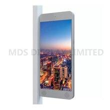 P3.8 WIFI polychrome extérieur, écran daffichage de poteau de publicité de signe de LED de 3G/4G