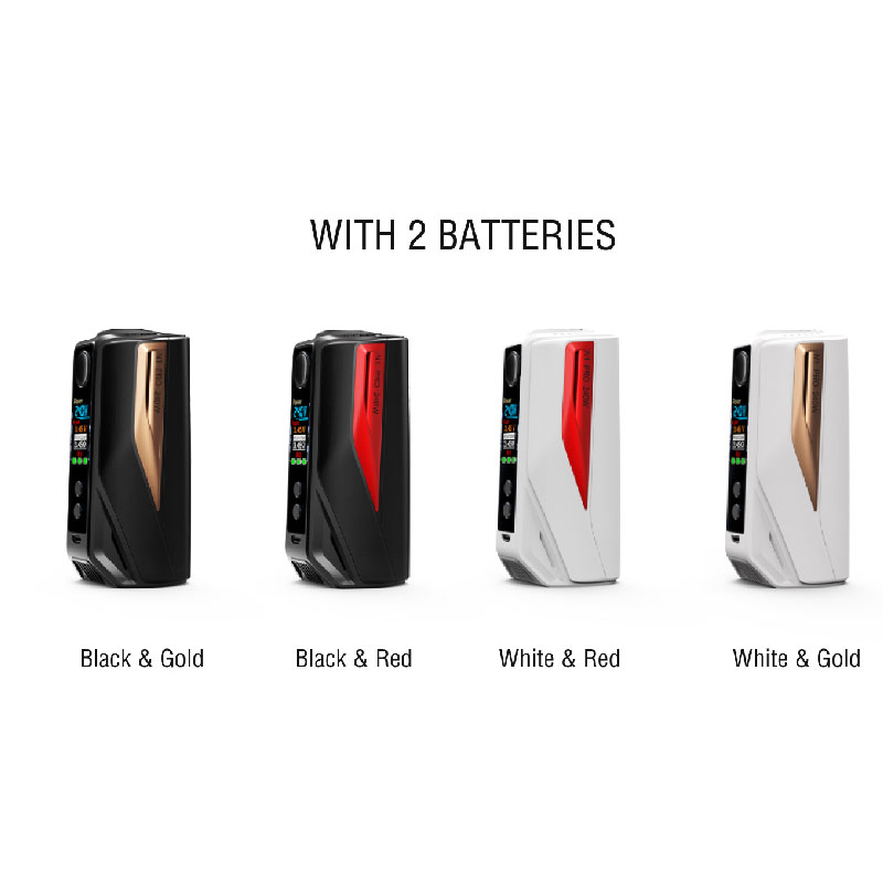 Vape mod Vaptio N1 Pro 240W Electronic Cigarette With 2 5ml atomizer Box MOD 240W support 2 3 18650 battery fit 510thread tank in Electronic Cigarette Batteries from Consumer Electronics