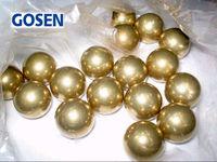 15mm 50 PCS Solid Brass H62 Bearing Ball Free Shipping