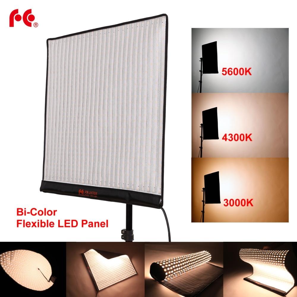FalconEye 150 Вт RX 24TDX светильник для видеосъемки, портативный светодиодный светильник для фото, гибкий светодиодный светильник для видеосъемки