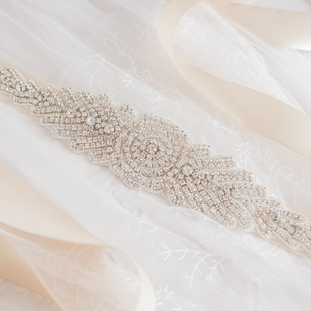 TOPQUEEN FREE SHIPPING S23 Rhinestones Crystals Wedding Belts Wedding sashes,Rhinestones Crystals Bridal Belts Bridal Sashes.