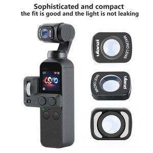 Image 4 - Mini objectif Macro grand Angle pour Dji Osmo poche 10X HD 4 K Macro objectif accessoires de cardan lentilles magnétiques Ulanzi OP 5 OP 6