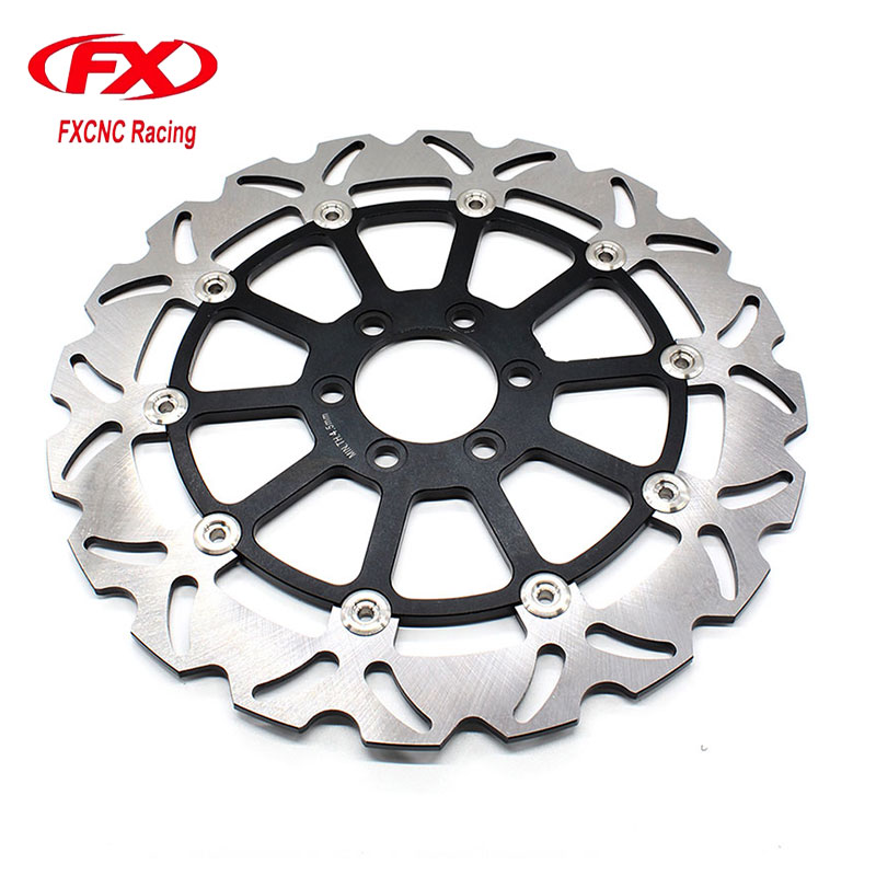 320mm Motorcycle Floating Front Brake Disc Disks Rotor For KTM Duke 125 200 390 DUKE 2012 2013 2014 2015 2016 Motorcycle Parts free shipping aluminium wave motorcycle accessories front brake disc rotor disk for ktm 125 200 390 duke 2013 2014