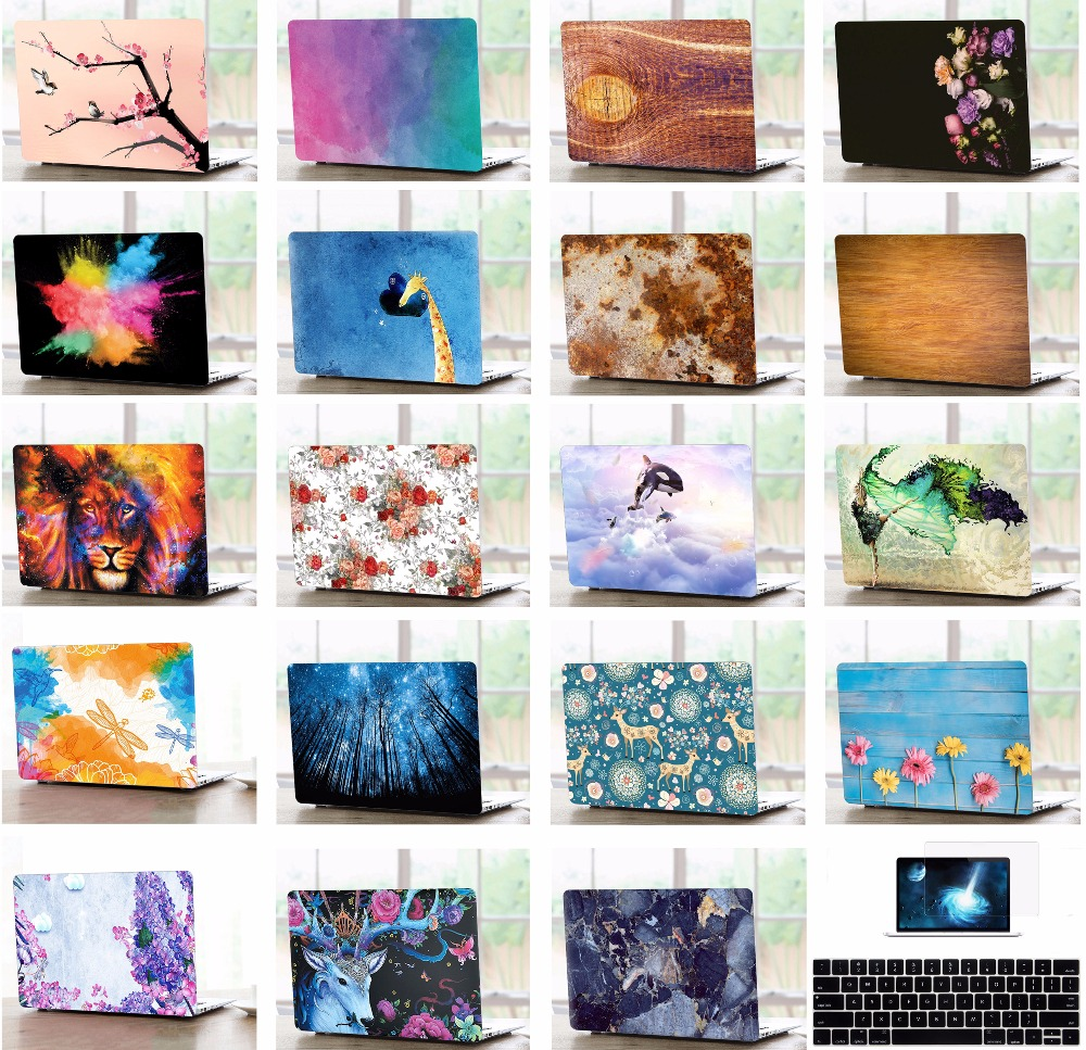 Laptop Matte Hard Case Keyboard Cover LCD Film Screen Protector Set For font b Apple b