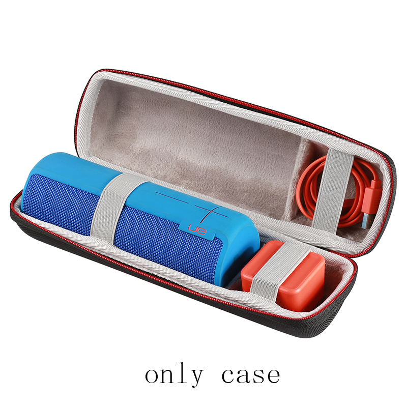 Hard Case for Ultimate Ears UE BOOM 2 Wireless Bluetooth Speaker Fits USB Cable and Charger 800 wires soft silver occ alloy teflo aft earphone cable for ultimate ears ue tf10 sf3 sf5 5eb 5pro triplefi 15vm ln005407