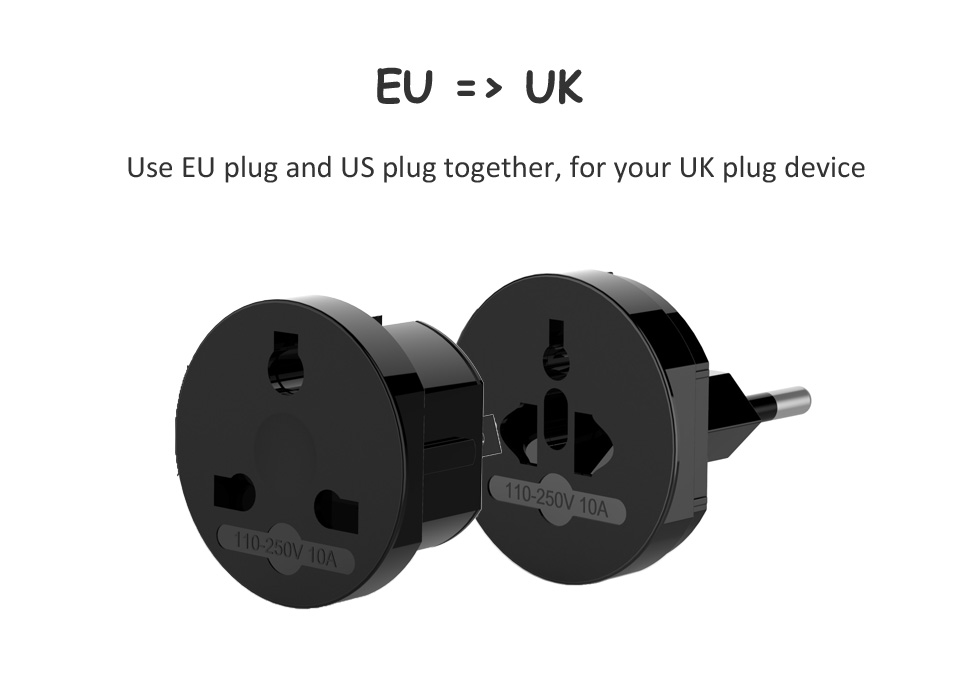 NTONPOWER Universal Electrical Plug Adapter