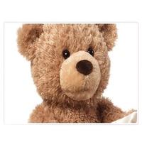 ZXZ Peek a Boo Teddy Bear Play Hide And Seek Lovely Cartoon Stuffed Kids Birthday Gift 30cm Cute Music Bear Plush Toy 1