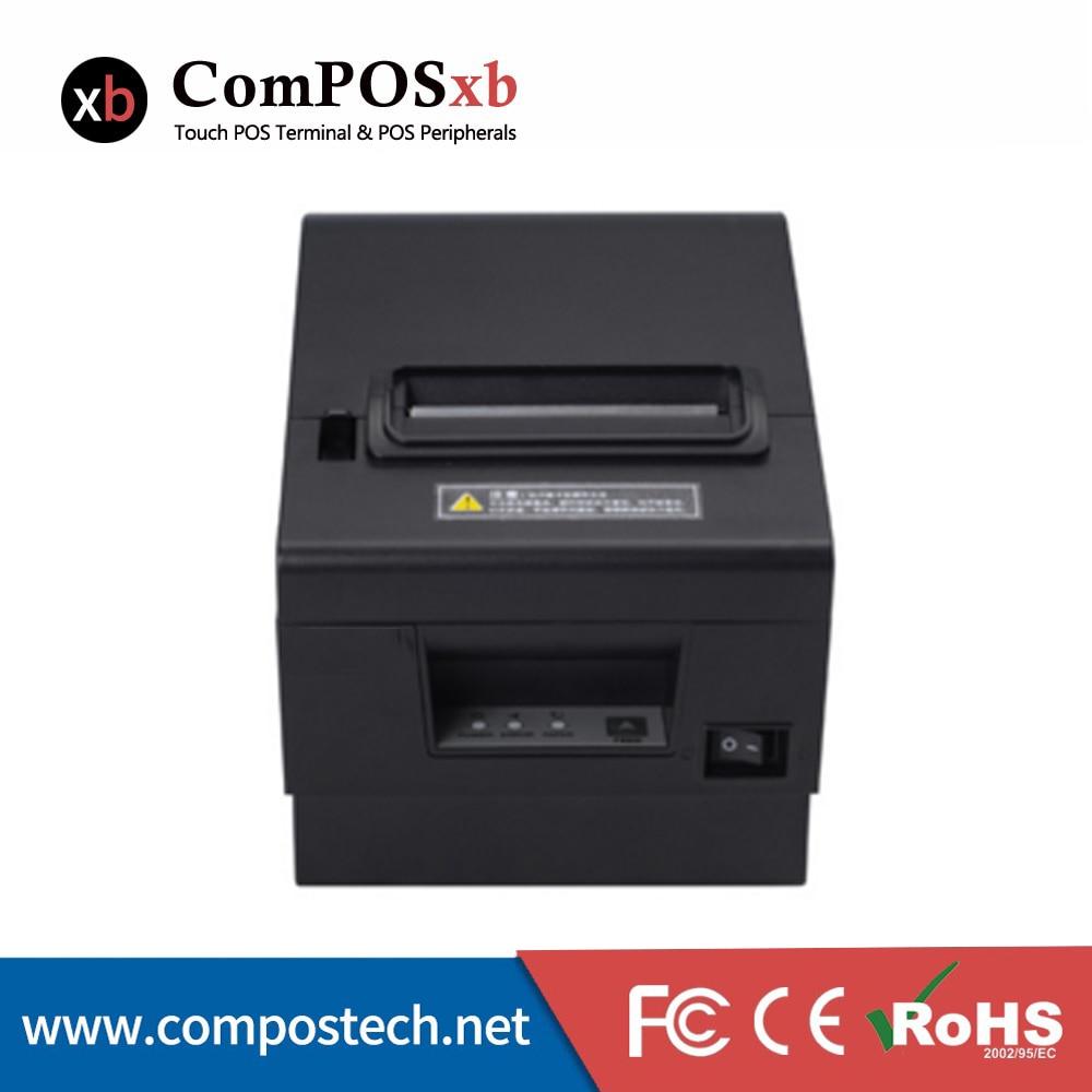 Imprimante thermique ComPOS Auto-Cutter 80 MM avec port USB + RS232 pour caisse enregistreuse POS