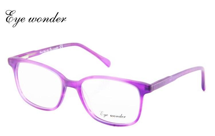 Eye wonder Women\'s Retro Acetate Burgundy Glasses Frames Vintage ...