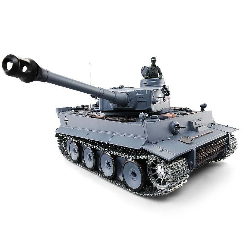 1:16 Пособия по немецкому языку тигр я RC тяжелый танк 2,4 ГГц многочастотный пульт дистанционного управления Танк Лучший подарок для любителей...