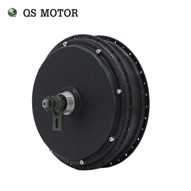100KPH QS Motor Bicycle Spoke motor 3000W 205 (50H) V3 Type Hub Motor with SVMC72150 controller