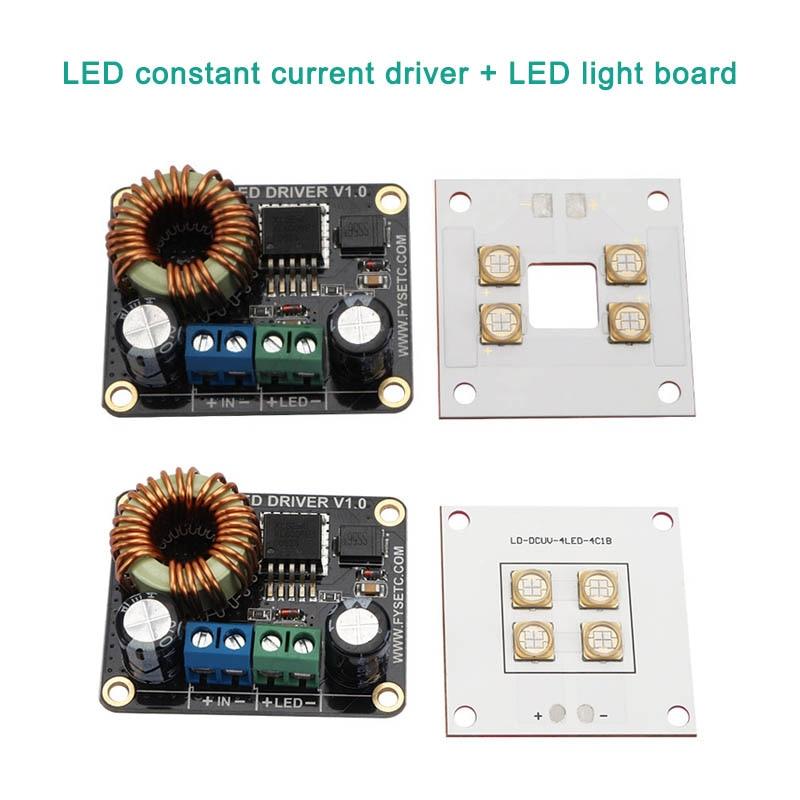Carte d'entraînement LED 30 W pilote de courant Constant + carte de lumière LED pour imprimante 3D DLP Boost SLA