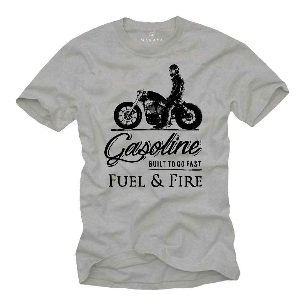 2019 Hot Sale Fashion T Shirt Biker T-shirt Herren MC Bobber Chopper Rocker Geschenke Motorradfahrer MOTORRAD TEE SHIRT