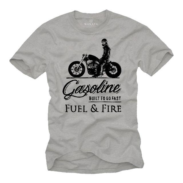 T Shirt Biker TShirt Herren...