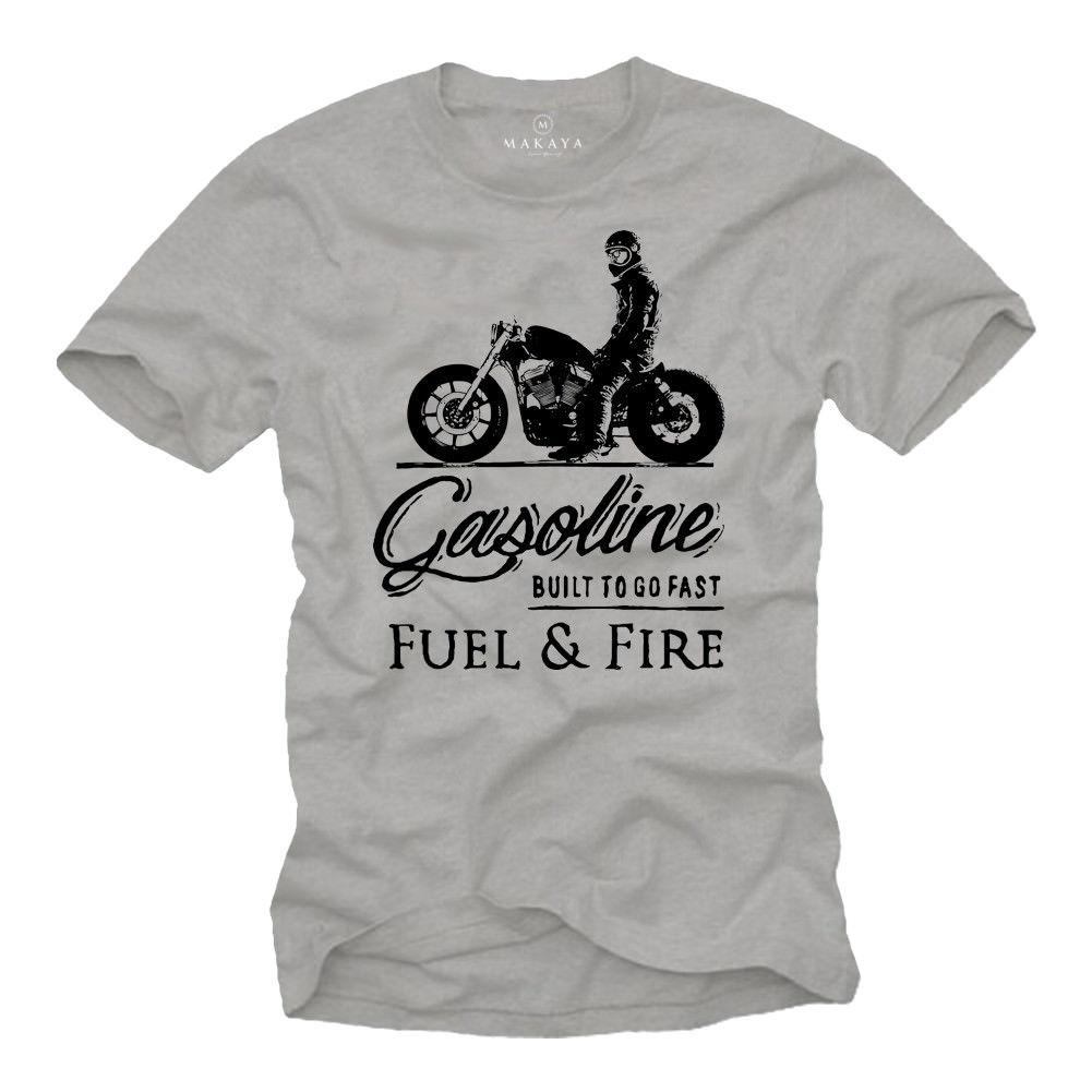 2019 Hot sale Fashion   T     shirt   Biker   T  -  Shirt   Herren MC Bobber Chopper Rocker Geschenke Motorradfahrer Motorrad Tee   shirt