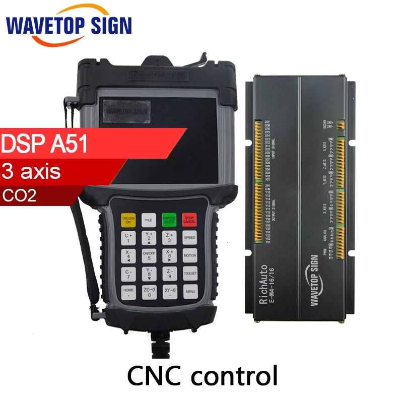 DSP A51 Cnc Router Machine controller Cnc Router DSP Cnc Router Machine Control Card 3 axis original richauto dsp a11s or a11e controller for cnc router 3 axis cnc router control system