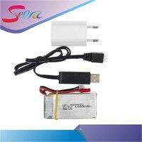 7.4 В 1500 мАч 25c lipo Батарея с USB кабель зарядного устройства и ЕС переходник для WLtoys V913 q212g V912 v262 L959 l979 JST разъем