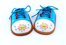 New wooden toy baby Mini socksand little shoes educational gift Free shipping
