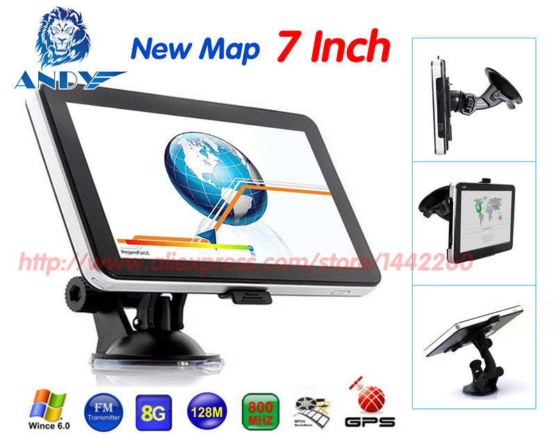 GPS Navigation Canada/israel 7inch FM Oriana Free-Upgrade New-Map DDR/800MHZ 8GB/128M title=