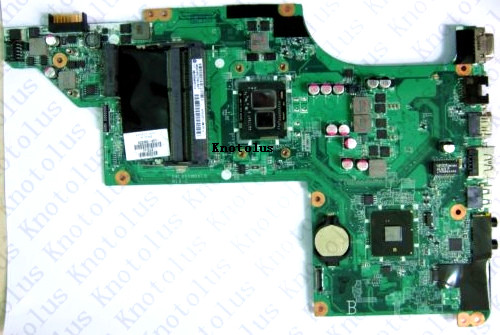 633383-001 For HP DV6 DV6-3000  laptop motherboard I3 CPU DDR3 Free Shipping 100% test ok free shipping 571186 001 for hp pavilion dv6 dv6 1000 dv6 2000 series motherboard all functions 100