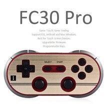 Оригинальный 8bitdo FC30 Pro Беспроводной контроллер Bluetooth для ПК ne мини Видеоприставки переключатель игровой консоли Геймпады