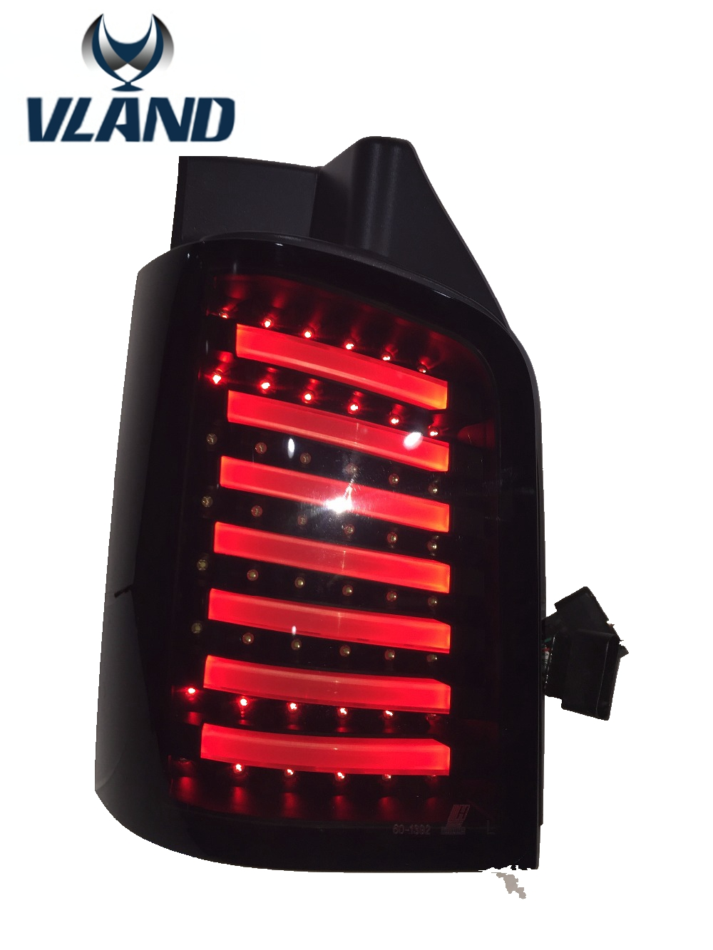Free shipping for taillLamp for VW Multivan T5 Tail Lights Rear Light DRL+Turn Signal+Brake+Reverse LED rearlamp car styling tail lights for toyota highlander 2015 led tail lamp rear trunk lamp cover drl signal brake reverse