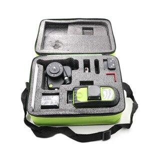 Image 5 - 2 pièces Lion batterie Fukuda 12 ligne laser 3D niveau 360 niveau Laser Vertical et Horizontal niveau Laser auto nivelant 515NM niveau laser pointu