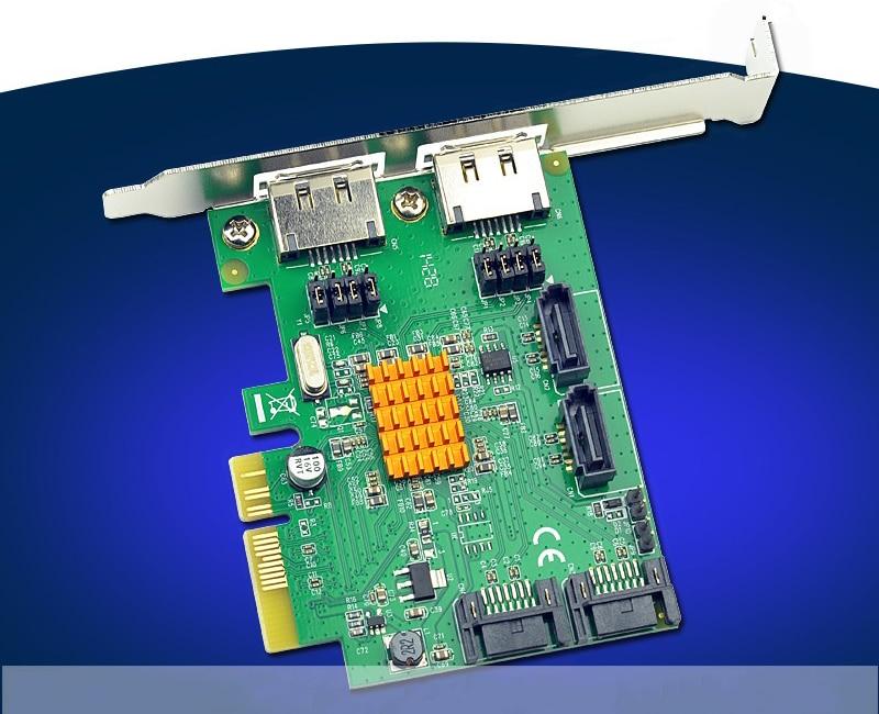 4 Ports Internal SATA3.0 6Gbps PCI-Express Raid Card with 2 Ports External eSATA4 Ports Internal SATA3.0 6Gbps PCI-Express Raid Card with 2 Ports External eSATA