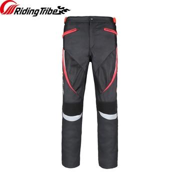 Women Motorcycle Riding Pants Slim Fit Protective Trousers Summer Waterproof Breathable Racing Stretch Biker Pants HP-20